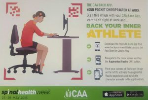 The CAA Back App: Your Pocket Chiropractor