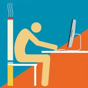 Is sitting the new Smoking? Total Balance Chiropractic