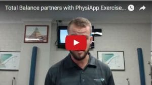 Total Balance Partners with PhysiApp Exercise Tracking App!