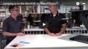 Jumping in to the World of Sit Stand Desks!