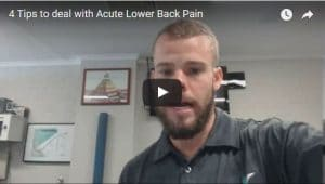 4 Tips To Deal With Acute Back Pain Total Balance Chiropractic