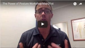 The Power of Posture Workshop May 31st