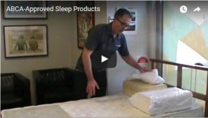 ABCA - Approved Sleep Products Total Balance Chiropractic