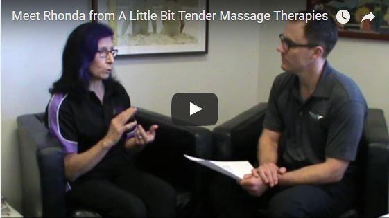 Meet Rhonda from A Little Bit Tender Massage Therapies
