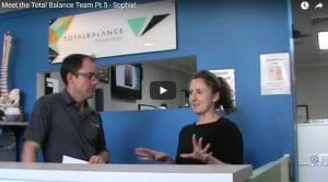 Meet the Total Balance Team Pt 5 - Sophie.