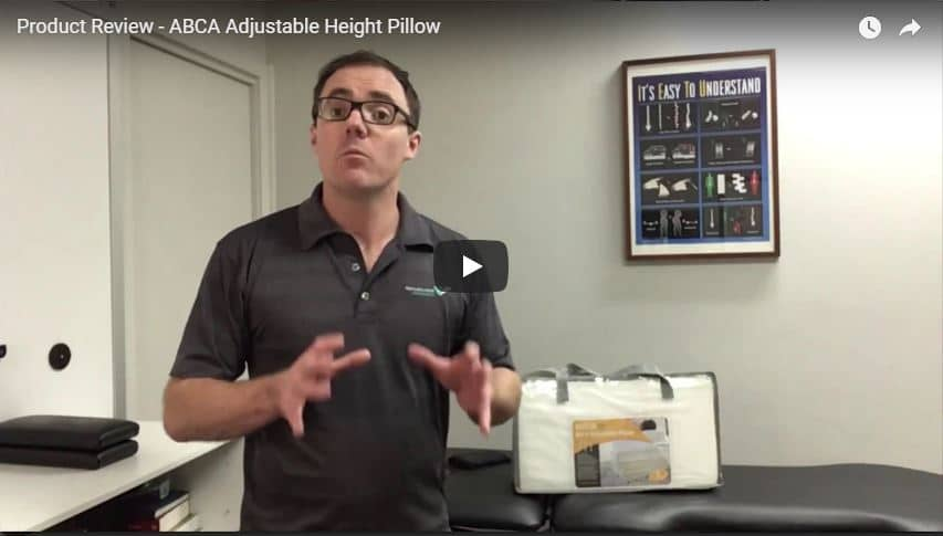 Product Review - ABCA Adjustable Height Pillow