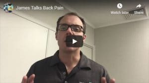 James talks back pain Total Balance Chiropractic