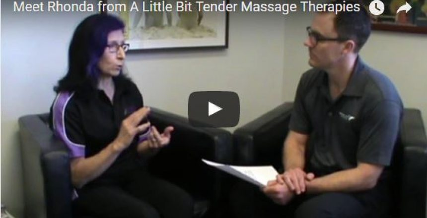 Meet Rhonda from A Little Bit Tender Massage Therapies