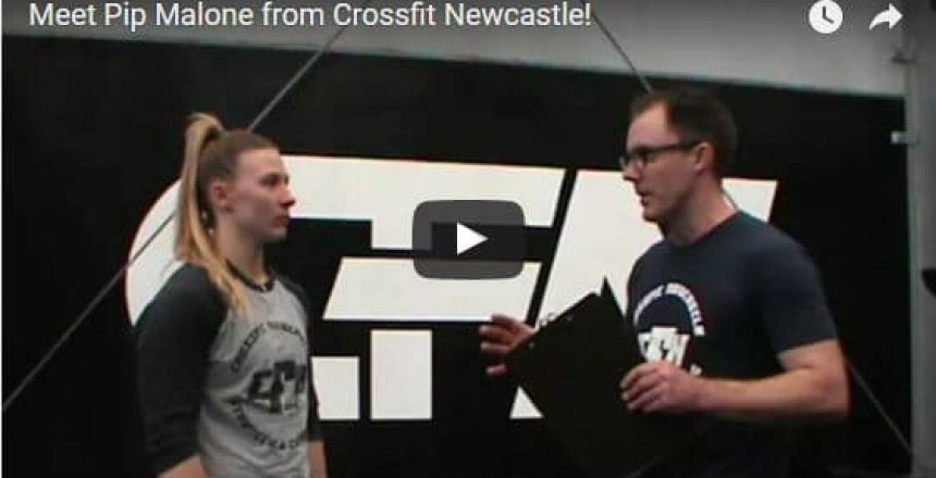 Meet Pip Malone from Crossfit Newcastle! Total Balance Chiropractic