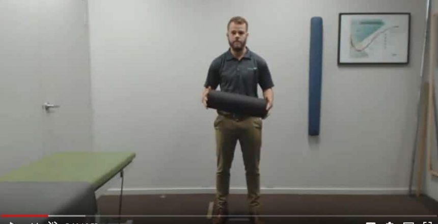 How To Use a Foam Roller Total Balance Chiropractic