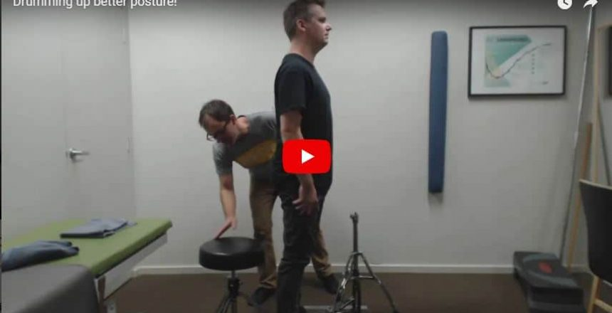 Drumming up better posture! Total Balance Chiropractic